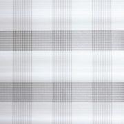 Lapfüggöny anyag karo fehér 60x245cm